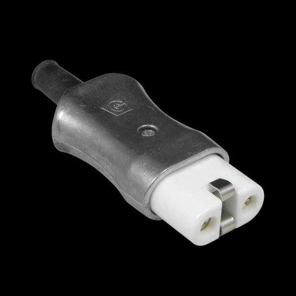 Metal 2 Pin Plug